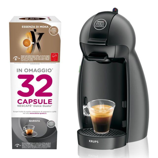 macch caffe'c/32capsule nera PICCOLO DOLCEGUSTO