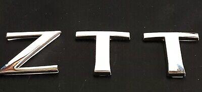 Mg Ztt 2001-05 Estate Coche Delantero Trasero Insignia Insertos 59mm 45mm Verde insignias de carbono