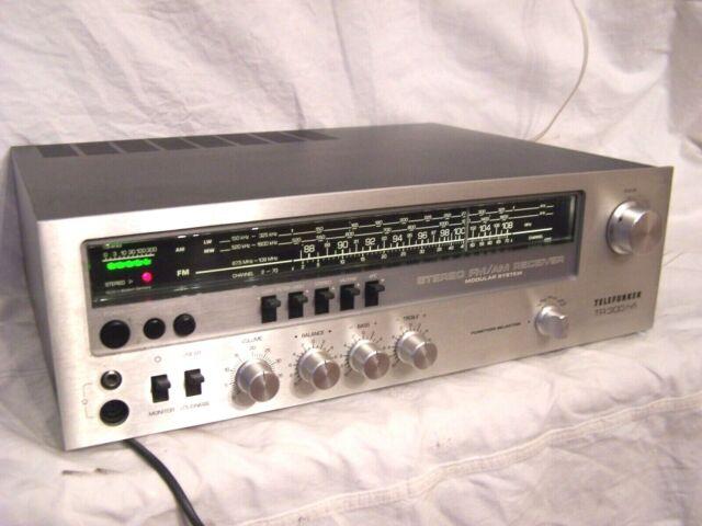 Telefunken TR-300 HiFi Vintage High End HiFi-Stereo FM/AM Receiver d.Oberklasse