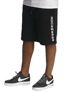 Black Pantaloncini Rocawear Nero Rwsh002blk Pile Base q7w8wpS