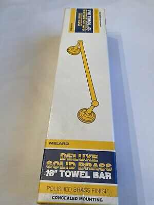 """Cifial 495.318.605 Polish Brass 18/"""" Bathroom Towel Bar"""
