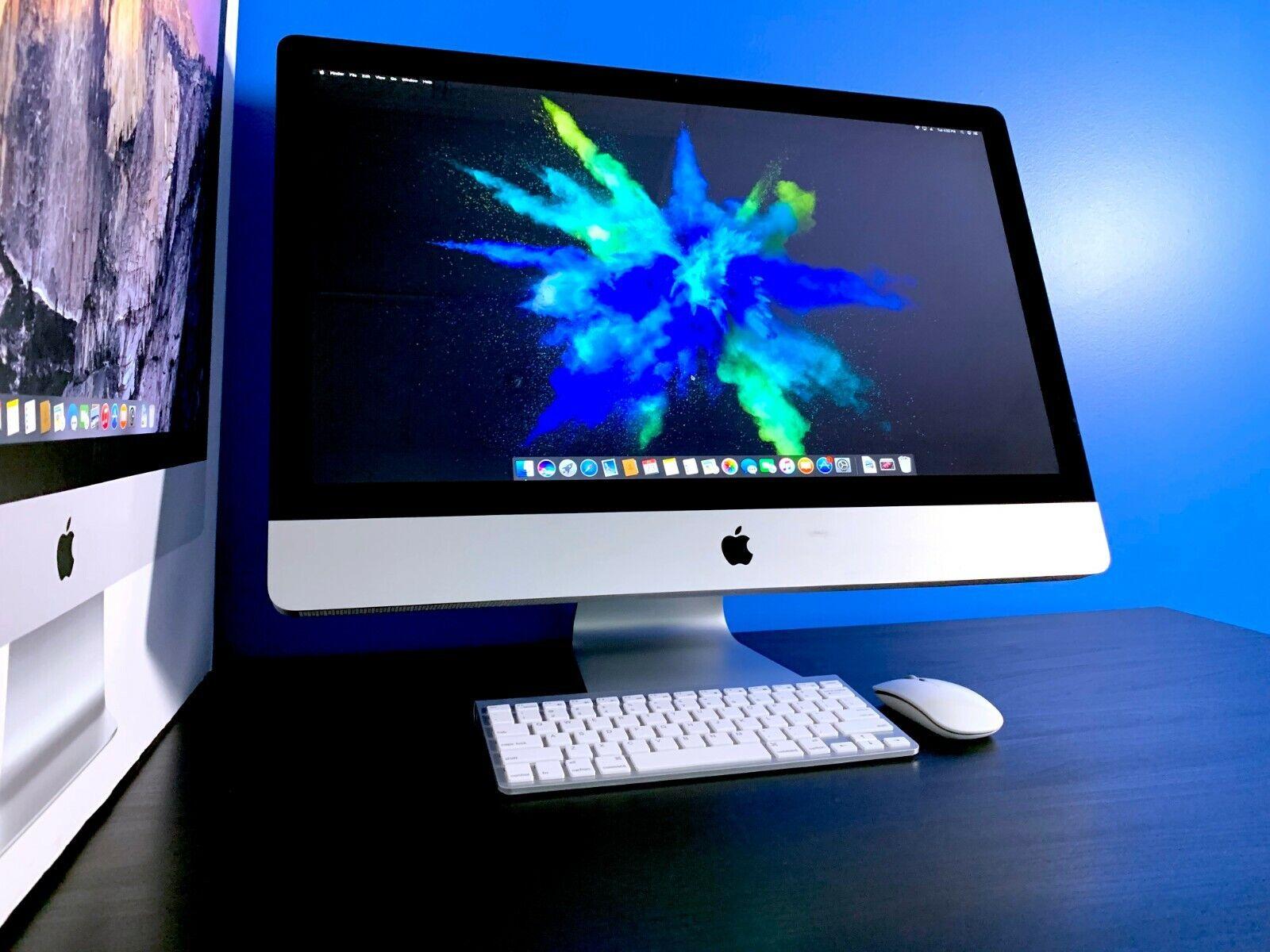 APPLE IMAC 27 INCH MAC DESKTOP COMPUTER | 2.7GHZ | 1TB HD | 2 YEAR WARRANTY!. Buy it now for 799.00