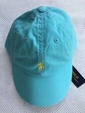 bf0688ed75ba Polo Ralph Lauren Classic Sport Chino Baseball Hat Cap Carson Blue ...