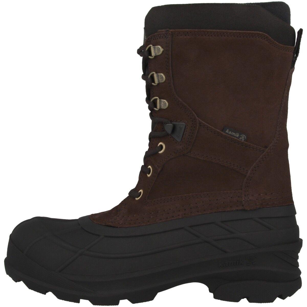 Kamik Nationplus Herren Winterstiefel Stiefel Schnee Stiefel Schuhe WK0097-DBR    | Garantiere Qualität und Quantität
