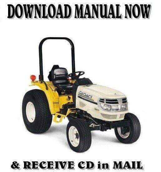Cub Cadet Series 6000 4 Wheel Drive Compact Tractor Model