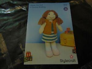 Stylecraft 9668 Jessie the Doll Knitting Pattern