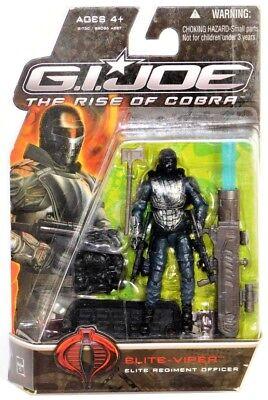 The Rise of Cobra Movie 3.75 Inches G.I Joe Elite Regiment Officer Elite Viper Action Figure