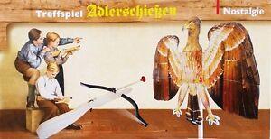 Adlerschießen Nostalgie Set Armbrust Bogen Vogelschießen Pfeile Pfeil NEU