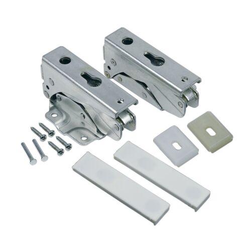 2x Cerniera Porta Set Frigorifero come Whirlpool 481231018672 Hotpoint C00310966