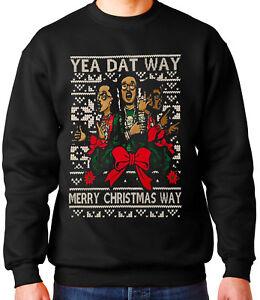 Migos Ugly Christmas Sweater Dat Way Quavo Unisex Crewneck