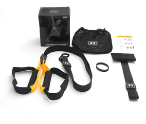 Details about  /UPGRADED Home Gym Suspension Resistance Strength Training Straps Workout Trainer