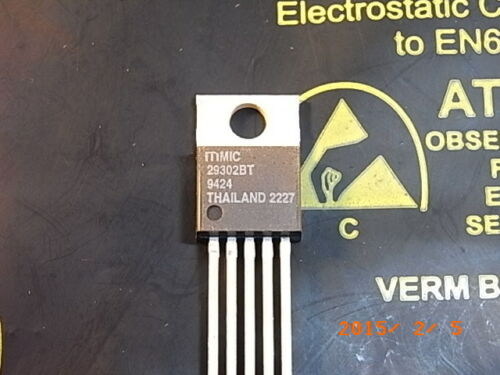Mic29302bt high-current Low-Dropout RCI 3 A to220-5 Micrel