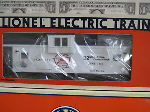 1986-Lionel-6-6926-TCA-Convention-Car-Caboose-L0205