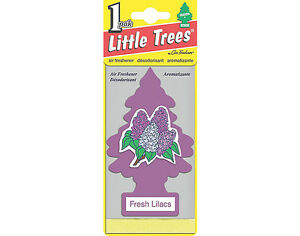 Little Trees Hanging Car & Home Air Freshener Lilac 12 Packs