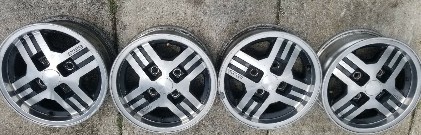 (4) 1984 Rx7 Wheels only no tires