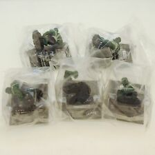 Lot of 5 Marvel Heroclix The INCREDIBLE HULK Promo From FREE COMIC BOOK DAY 2003