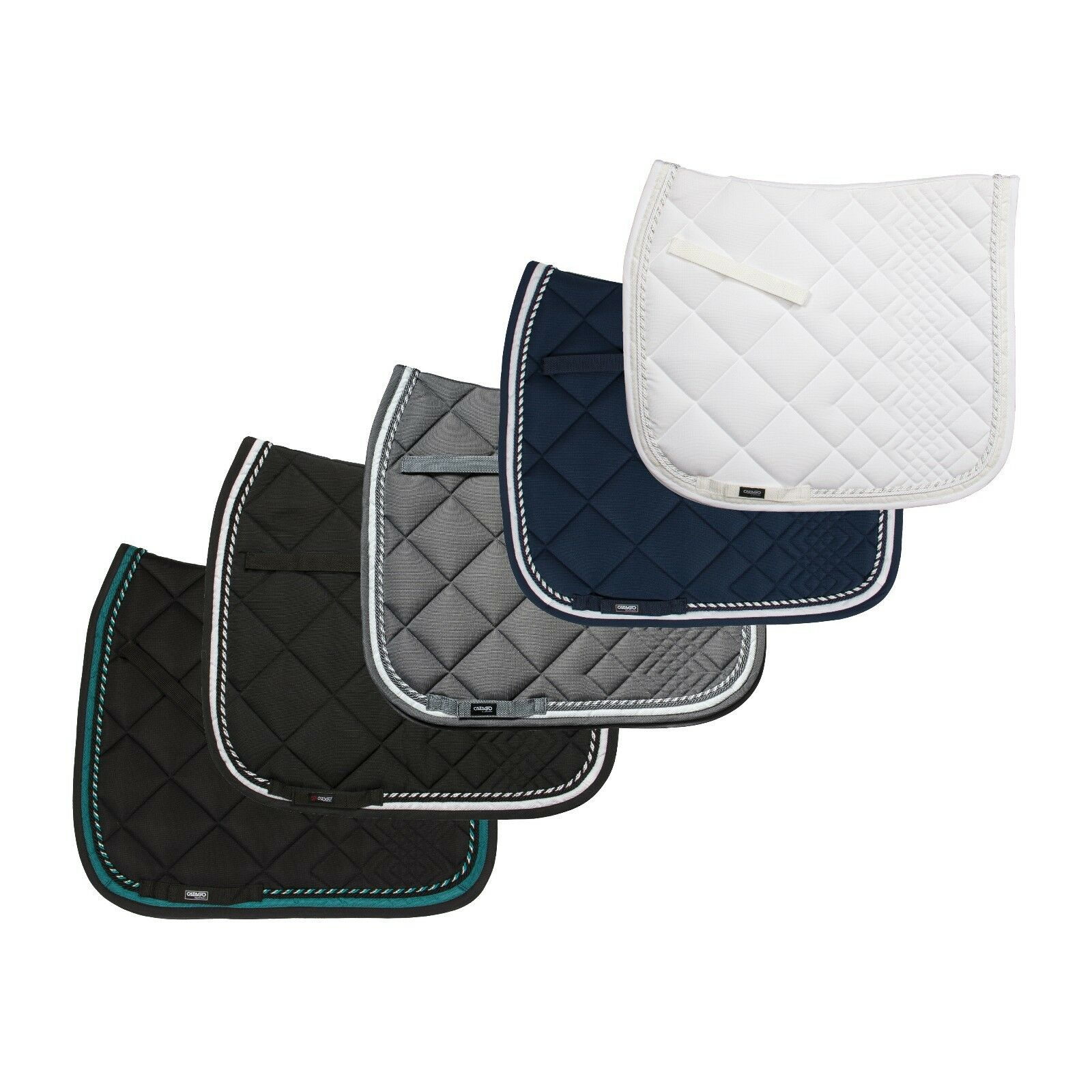 CATAGO Equestrian Diamond Saddle Pad  Dressage  Different Colorees