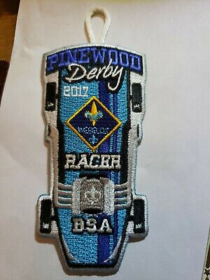 BSA Boy Scouts of America Pinewood Derby Racer Badge PatchCub Scouts