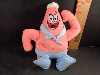 Spongebob Plush Squarepants Stuffed Doll Toy Soft Patrick First Mate Sailor TY