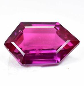 AAA+ 30.60 Ct Natural Pink Pyrope Garnet AGSL Certified Fancy STUNNING Gemstone