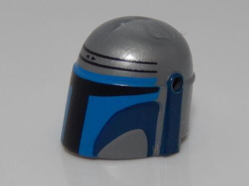 Lego Minifigure Head Piece Star Wars Jango Fett Helmet #103