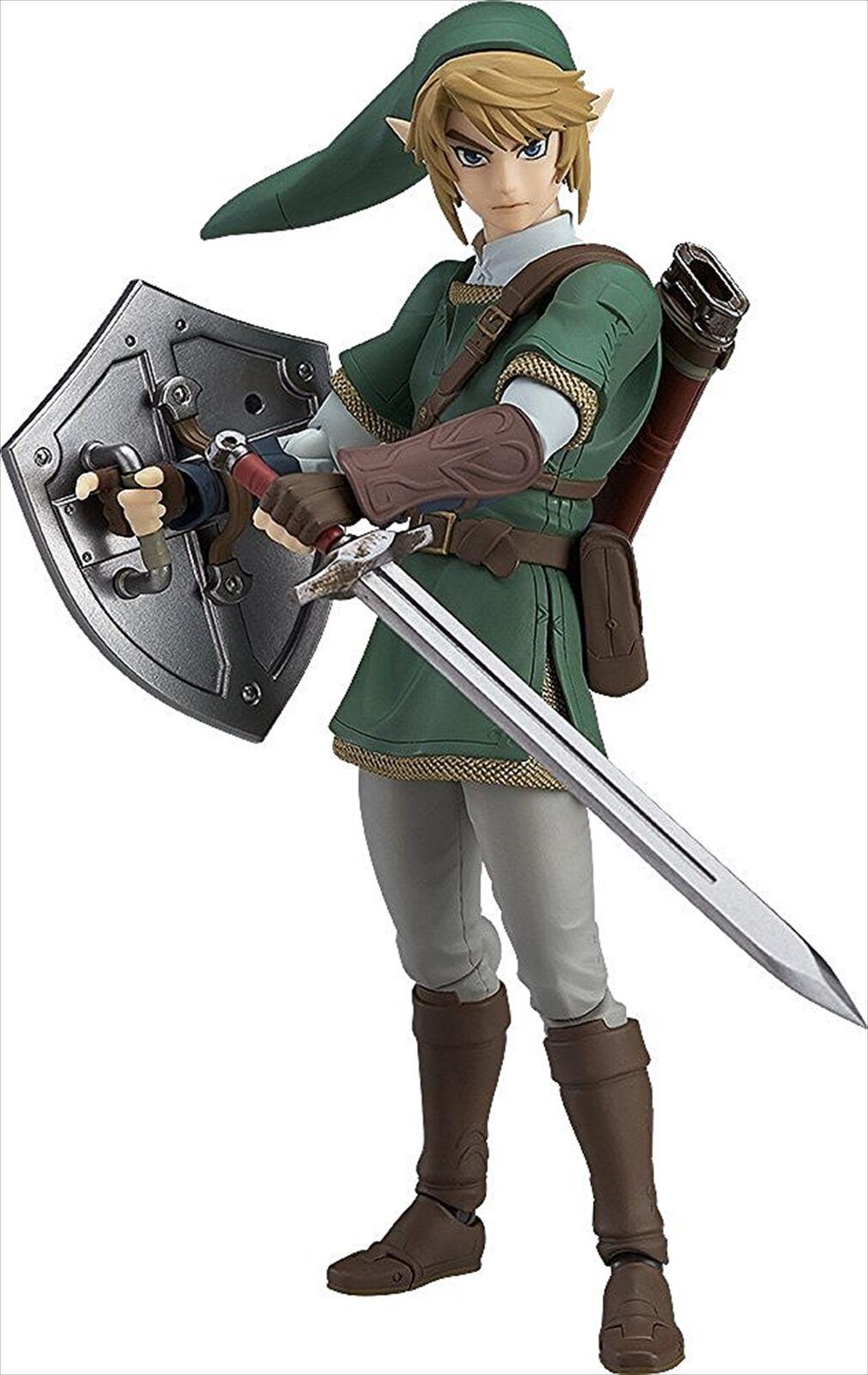 Good Smile figma The Legend of Zelda Twilight Princess Link DX Edition Figure