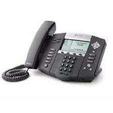 Polycom Soundpoint Ip 550 2200 12550 025 With Power Adapter And Handset