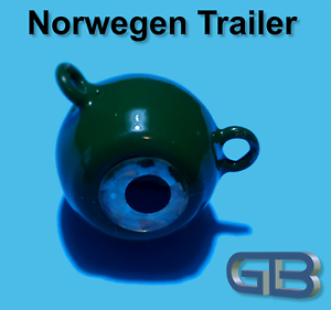 Norwegen-Trailer-60g-90g-115g-Sea-Trailer-Kugelblei-mit-Ose-Jigkopf