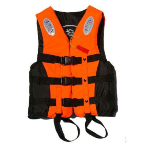 3 Colors Mens Buoyancy Aid Sailing Kayak Boating Life Jacket Sports Safe Jackets