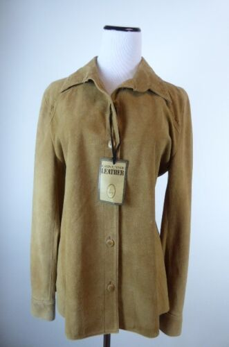 M Shirt Læder Whipstitching Brun Uruguay Montevideo Jakke Suede UqIF0vnwxt