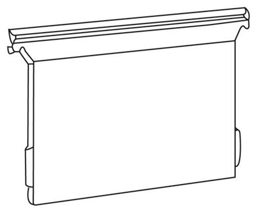 """EICHNER 5x Hängemappe /""""Visimap/"""" DIN A4 mit großem Fassungsvermögen Hängetasche"""