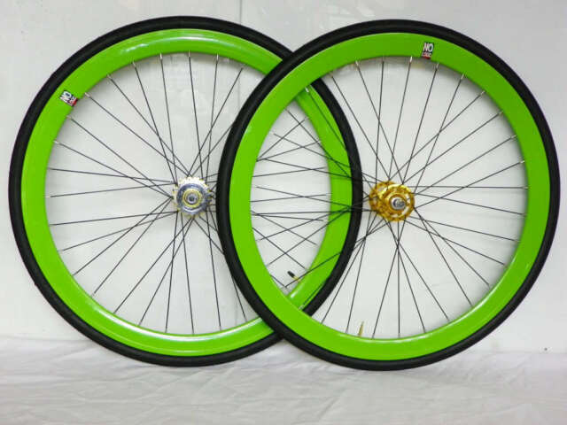 NOLOGO Wheels bicycle bike Single Speed wheels wheelsets Fixed Fixie 700c wheels