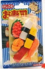 Japanese Iwako Sushi Party Take Apart Eraser Set #1082 S-1841