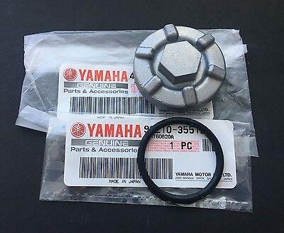 Oil Drain Plug Sump Cover For Yamaha ATV GRIZZLY 4X4 KODIAK 400 450 4WD YFM400AN