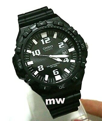 Latest Casio MRW-S300H-1B Solar Powered Men's Sports Resin Watch MRW300 MRWS300H