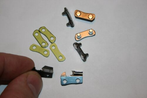 STIHL PS 3//8 sawchain Links Preset tie straps /& cutters for chain Repair Yellow