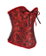Overbust-Corset-Top-Basque-Sexy-Steel-Boned-Bustier-Fancy-Dress-Waist-Trainer-UK thumbnail 76
