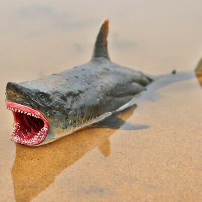 Megalodon Figure Ancient Shark Wild Animal PVC Model Toy Collector Decor Gift