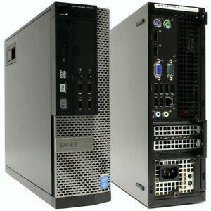 Mini PC Dell OPTIPLEX 9020 SFF Intel i7-4790 16GB RAM 500GB HDD DVD-RW Win10 Pro