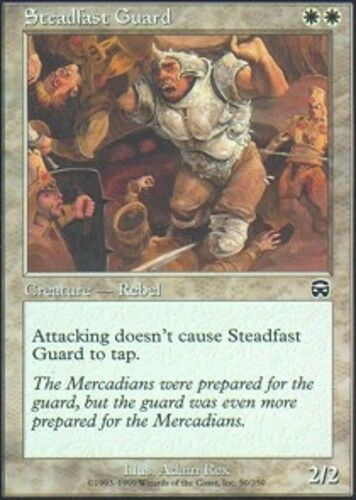 4x Steadfast Guard MTG Mercadian Masques NM Magic Regular