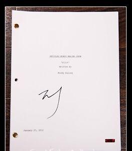 GFA-The-MINDY-Project-MINDY-KALING-Signed-Full-TV-Script-AD1-COA