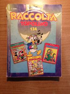 Topolino-Raccolta-n-134-Walt-Disney-Fumetto-Contiene-n-1976-1977-1978