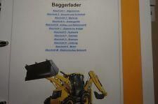 JCB 3CX 4CX Baggerlader von Nummer 2000000 REPARATURHANDBUCH WERKSTATTHANDBUCH