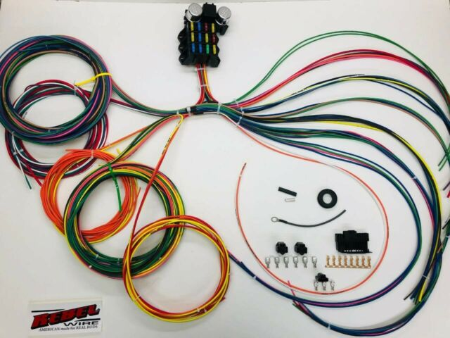 Rebel Wire 16 Circuit Ls Wiring Harness
