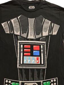 STAR-WARS-Darth-Vader-Body-Suit-Costume-Black-T-Shirt-Sz-S