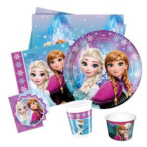 Disney-FROZEN-Northern-Lights-Party-Range-Birthday-Plates-Napkins-Banner