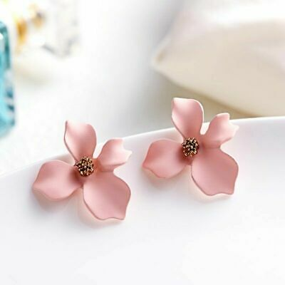 Fashion Boho Flowers Ear Stud Earrings Alloy Statement Women Charm Jewelry Gift
