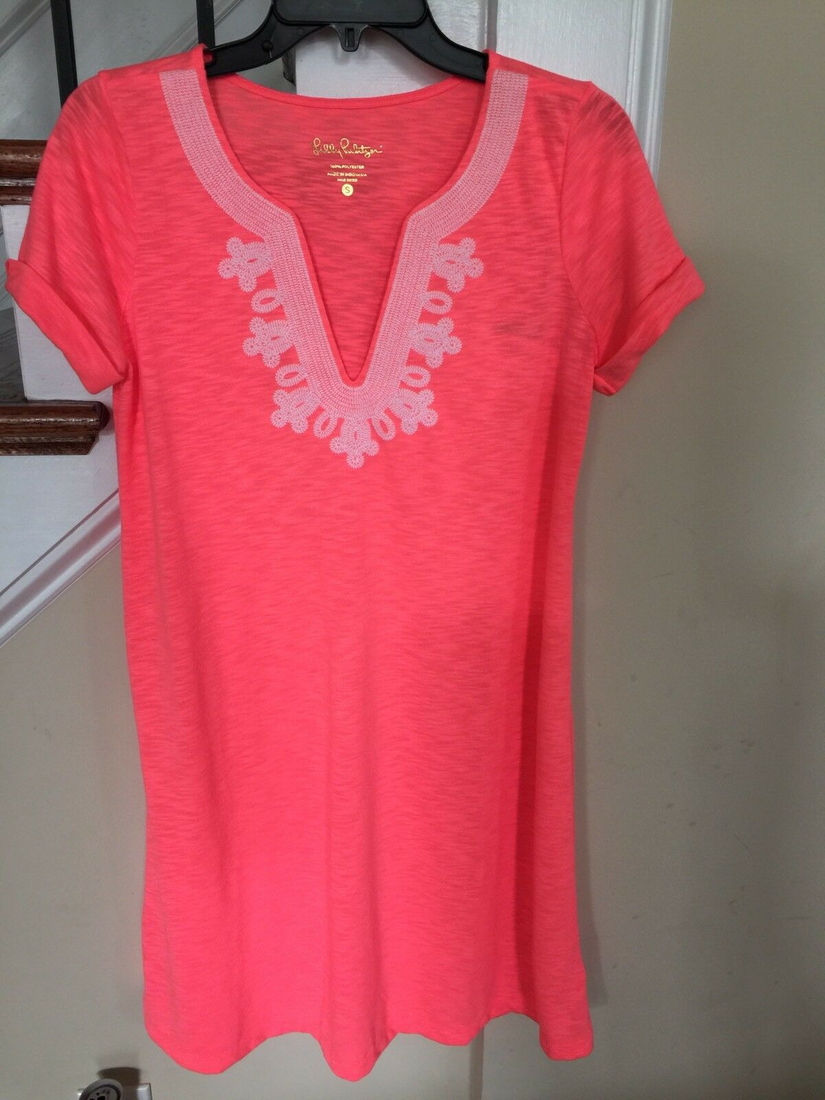 NWT New Lilly Pulitzer Maisy Dress Coral Reef Größe S