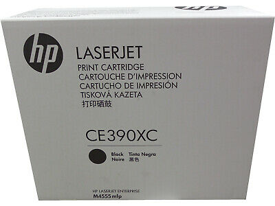 CE390X 90X Toner Cartridge GENUINE  NEW  SEALED BOX HP CE390XC