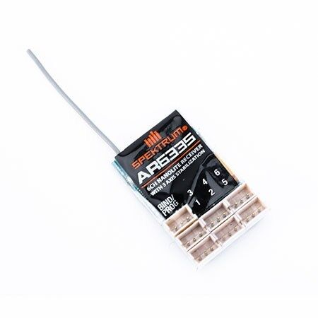 AR6335 6 Channel AS3X Nanolite Receiver SPMAR6335